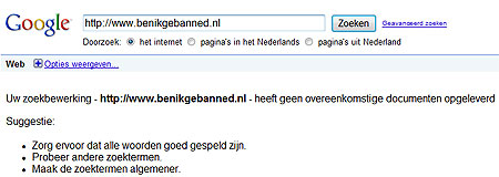 black hat seo gebanned door google